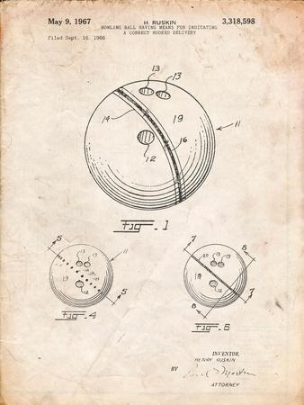 Bowling Ball 1991 Patent