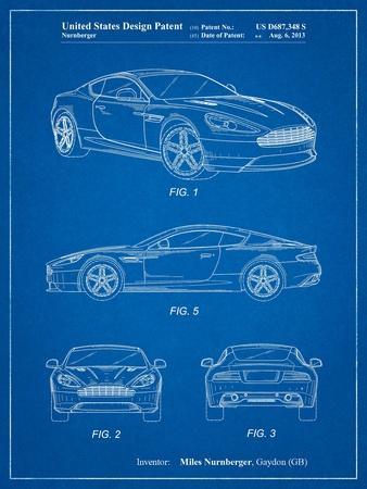 Aston Martin Dragon 88 Patent