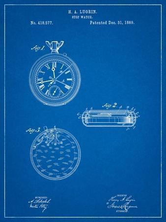 Lemania Swiss Stopwatch Patent