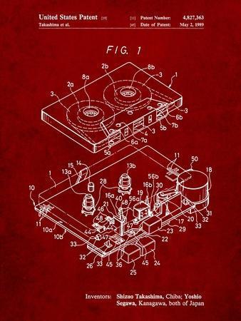 Toshiba Cassette Tape Recorder Patent