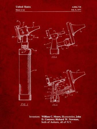 Otoscope Patent Print