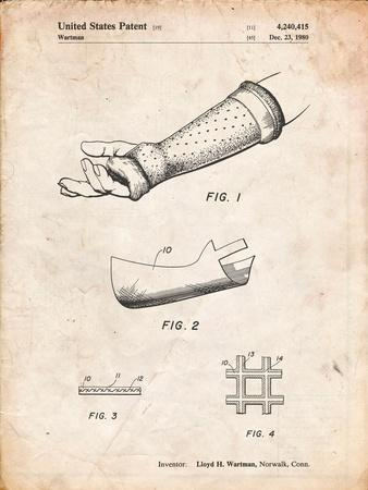 Orthopedic Hard Cast Patent