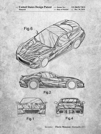 Exotic Sports Car Patent