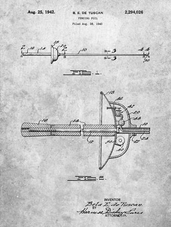 Fencing Sword Patent