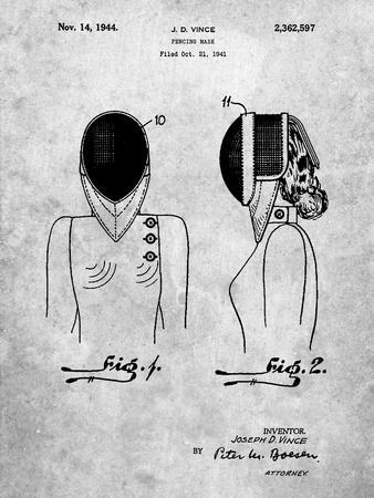 Fencing Mask Patent