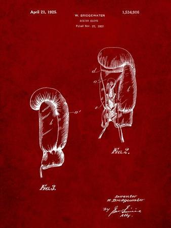 Boxing Glove 1925 Patent