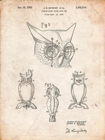 Owl Bird of Prey Patent