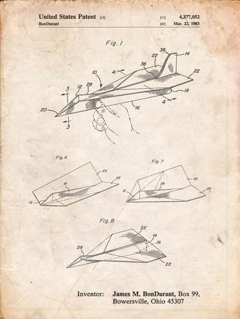 Paper Airplane Patent