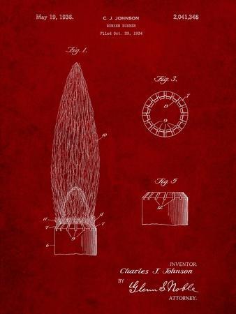 Bunsen Burner Gas Distribution Patent