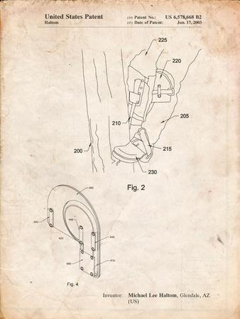 Pole Climber Knee Pads Patent