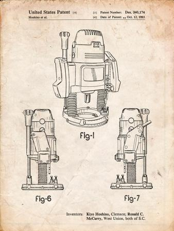 Plunge Router Patent