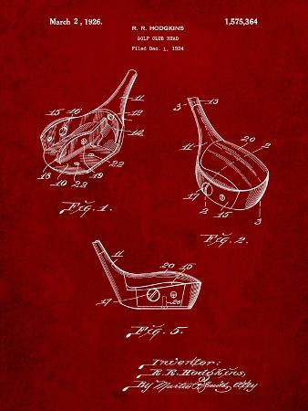 Golf Fairway Club Head Patent