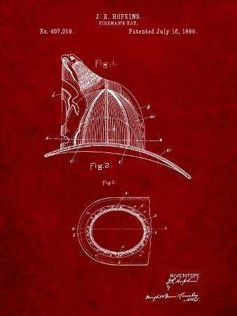 Vintage Fireman's Helmet 1889