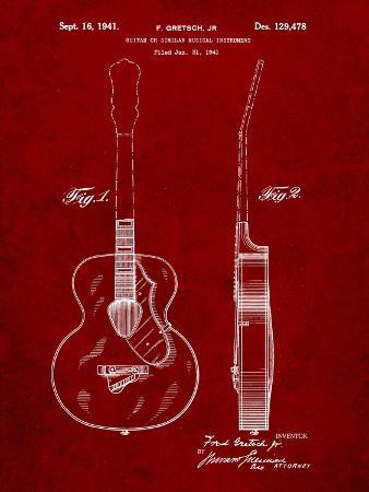 Gretsch 6022 Rancher Guitar Patent