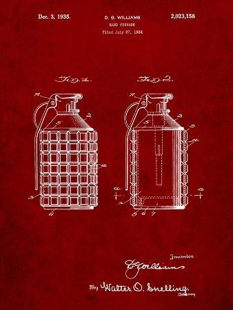 Hand Grenade Patent