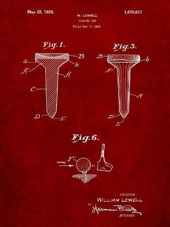 Golf Tee Patent