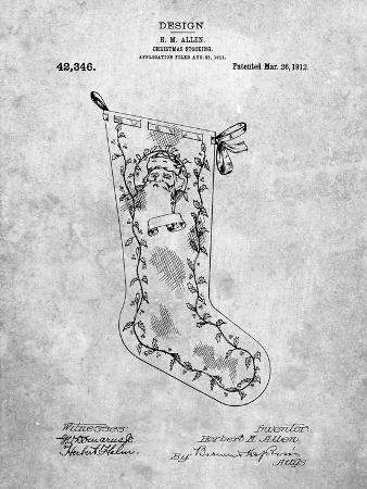 Christmas Stocking 1912 Patent