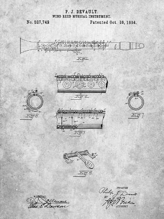 Clarinet 1894 Patent