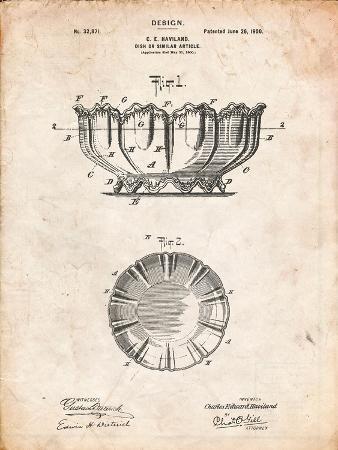Haviland Decorative Bowl Patent