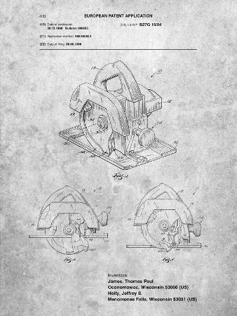 Circular Saw Patent