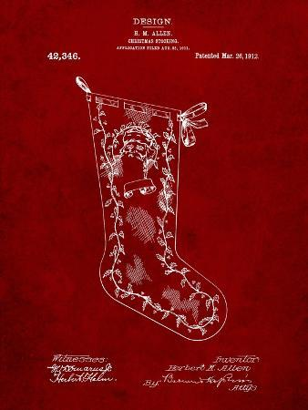 Christmas Stocking 1912 Patent
