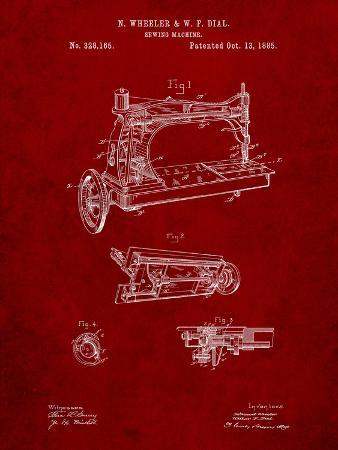 Wheeler and Wilson Sewing Machine Patent