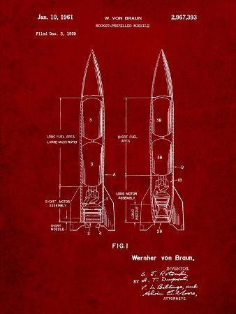 Von Braun Rocket Missile Patent