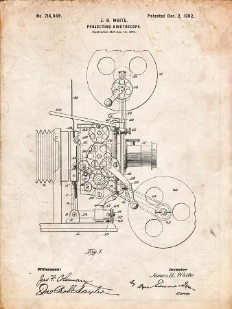 Projecting Kinetoscope Patent