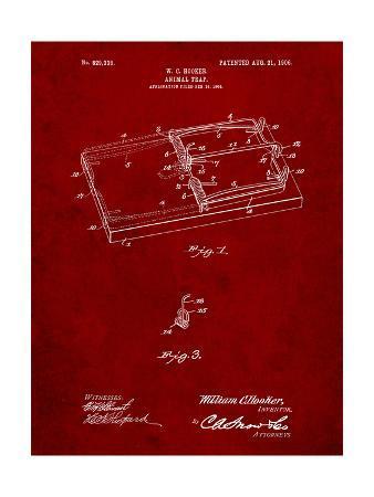 Rat Trap Patent Print