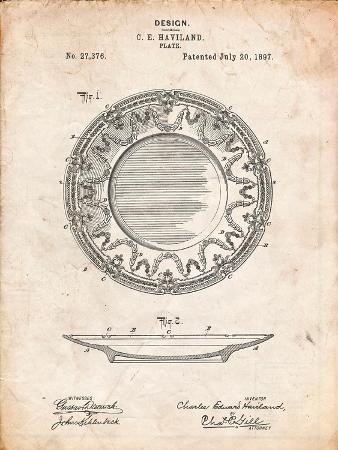 Haviland Dinner Plate Patent