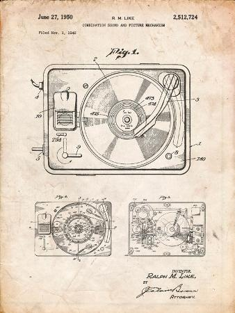 Record Player Patent