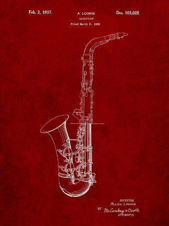 Conn a Melody Saxophone Patent