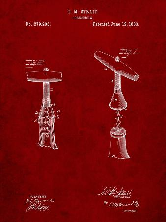 Corkscrew 1883 Patent