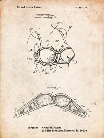 Push-Up Bra Patent