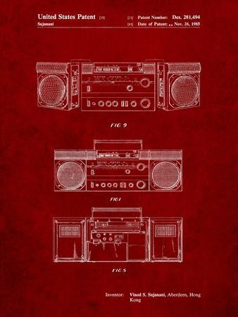 Hitachi Boom Box Patent