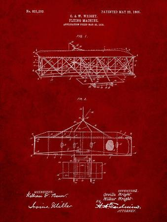 Wright Brother's Aeroplane Patent
