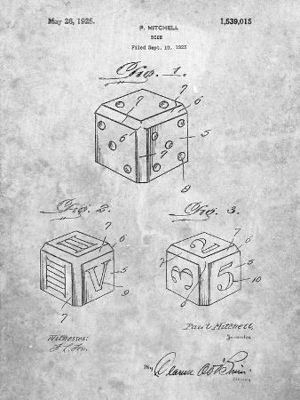 Dice 1923 Patent