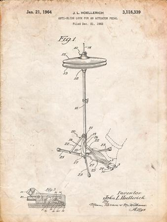 Hi Hat Cymbal Stand and Pedal Patent