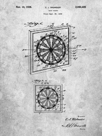 Dart Board 1936 Patent