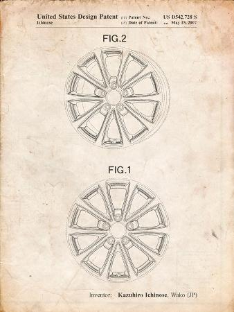 Honda Car Wheel Patent