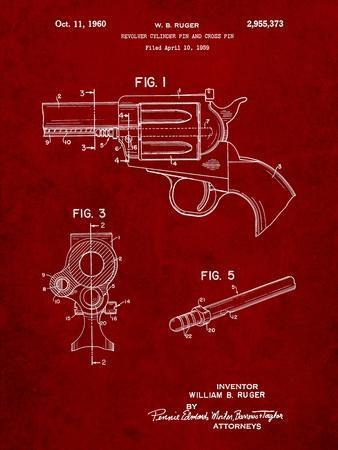 Ruger Revolver Patent Art