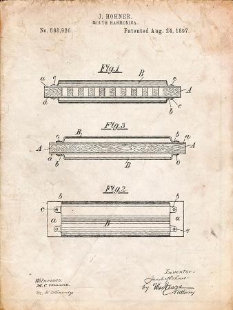 Hohner Harmonica Patent