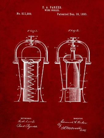 Wine Cooler 1893 Patent