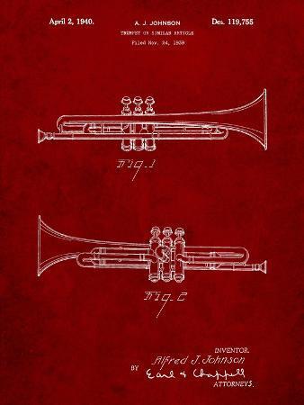 York Trumpet 1939 Patent