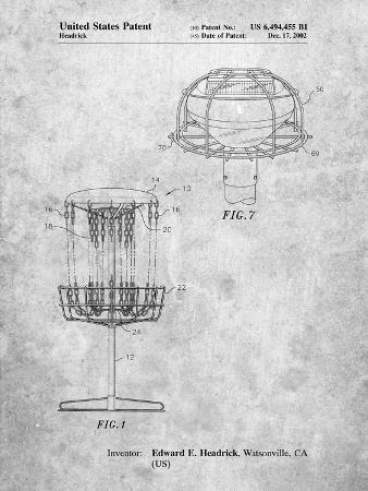 Disc Golf Basket Patent