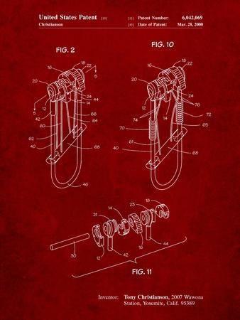 Rock Climbing Camalot Patent