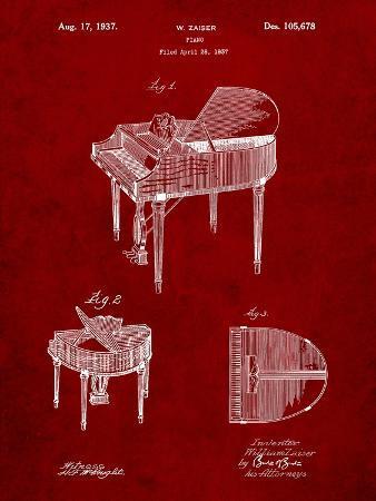 Wurlitzer Butterfly Model 235 Piano Patent