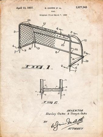 Soccer Goal Patent Art