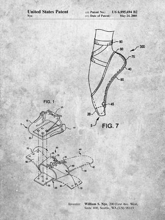 Ballet Shoe Patent