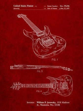 Ibanez Pro 540Rbb Electric Guitar Patent
